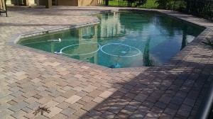 Redington Unsealed paver pool deck