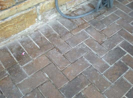 how to clean pavers naturally