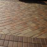 Driveway paver stones sealed