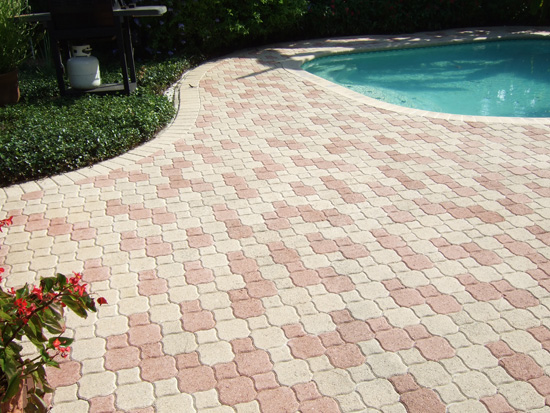 Paver Pool Deck Sealing - Brick paver,travertine sealing and repair, seal n lock, Tampa, Saint ...