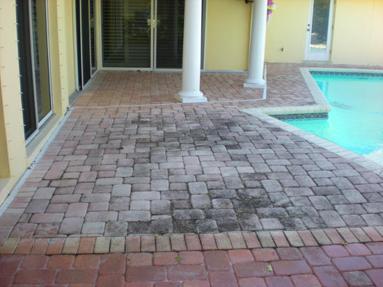 Paver Pool Deck Sealing Brick Paver Travertine Sealing