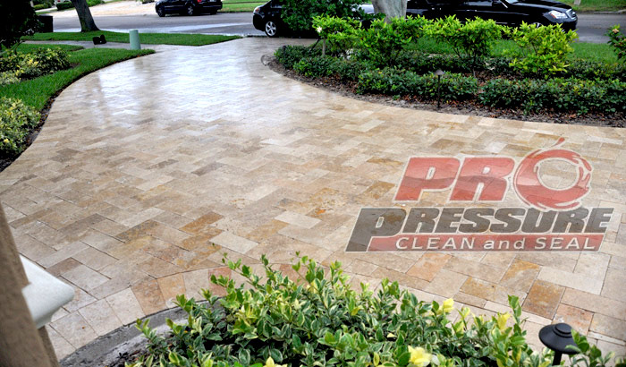 Paver Cleaning & Sealing in Tampa & St. Petersburg Fl