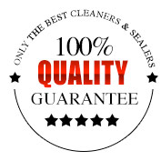100% Quality Guarantee on Pro Paver Clean and Seal Services