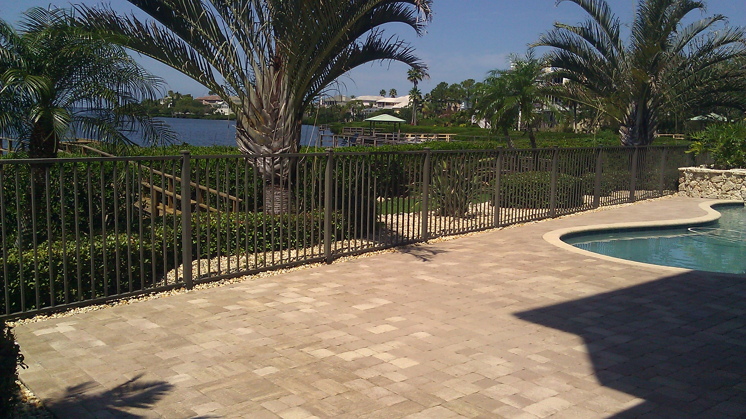 Brick Pool Deck Paver Pool Deck Sealing  Brick Pavertravertine Sealing And