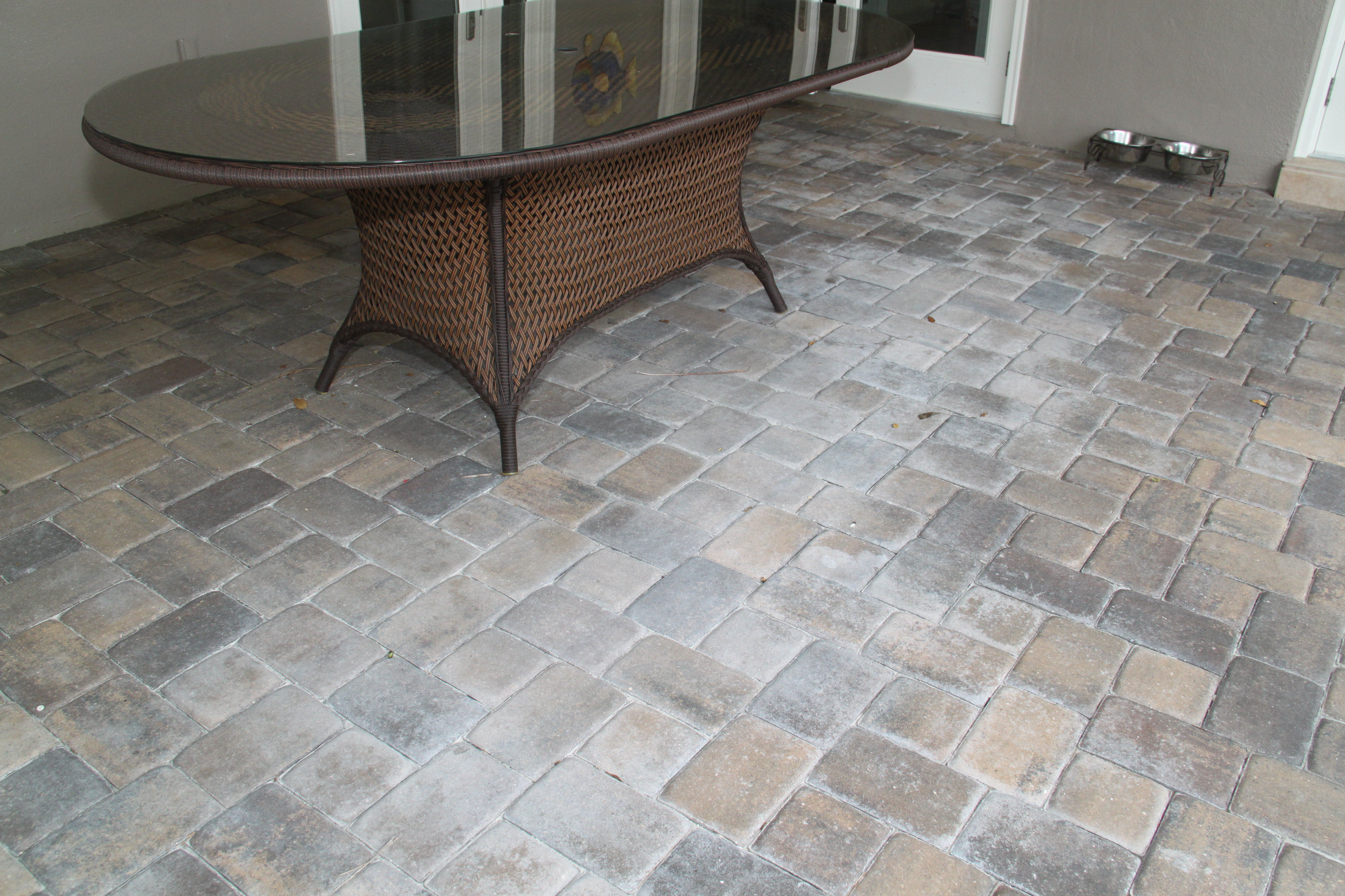 how to seal pavers wet look
