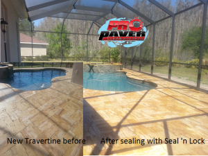 Carrolwood paver sealing