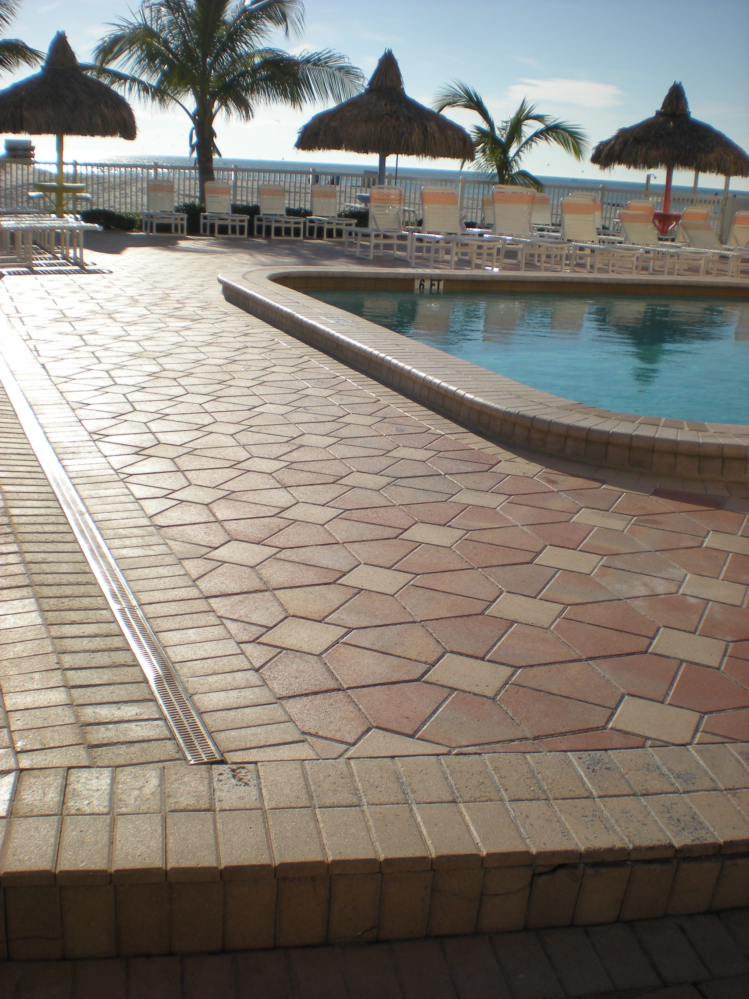 Beach Place Paver Pool Deck Paver Sealing And Repair