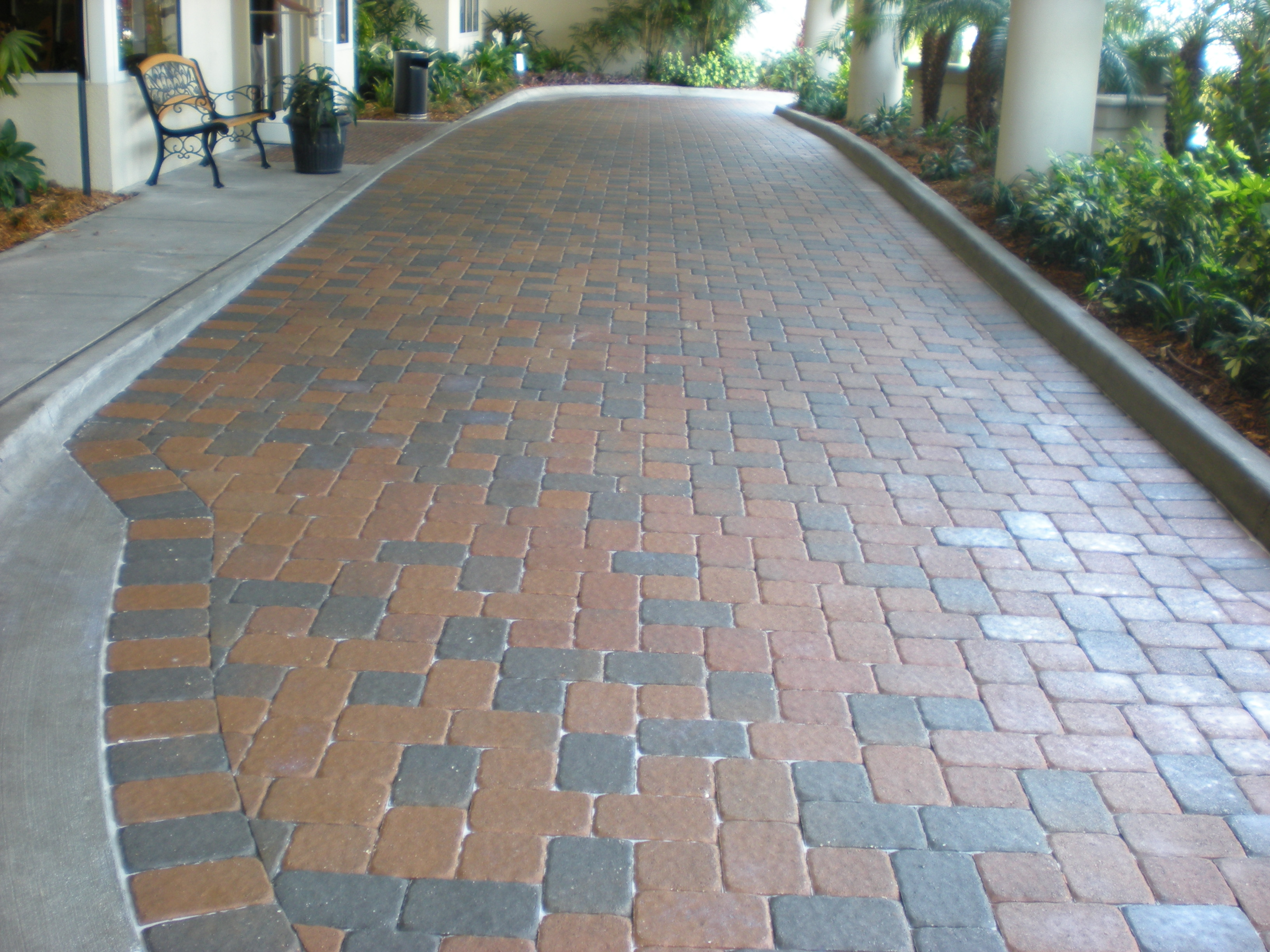 Interlocking Brick Pavers The Grand View  Paver Sealing And Repair Seal N Lock Tampa