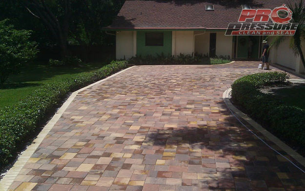 sealed-tremron-pavers-drivewaybef