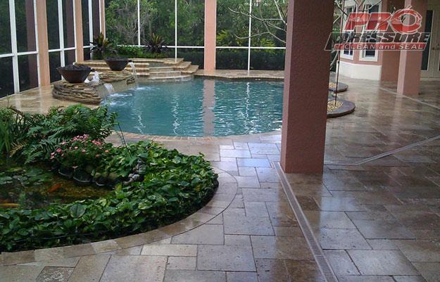 travertine-pool-deck-sealed