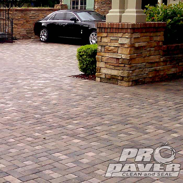 Brick Driveway Cleaning and Sealing - Pinellas County, FL