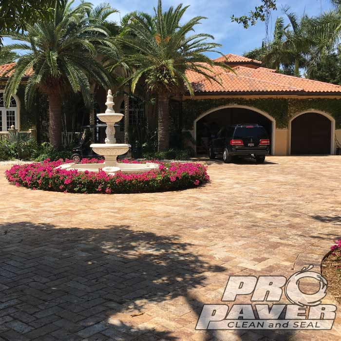 Driveway Pavers Concrete Brick Sealing and Cleaning