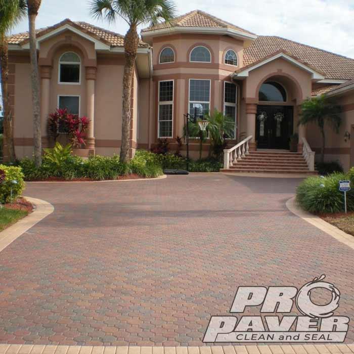 Driveway Paver Sealing - Largo Florida